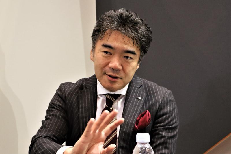 販売だけではなく、アフターサービスの体勢に力を入れていきたいと語る正本氏