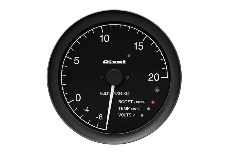 ブースト圧、水温、電圧を表示できるX8B