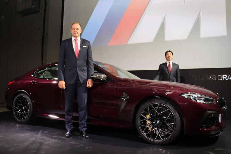 BMWの新春記者会見で「M8 グラン クーペ」が日本初公開された