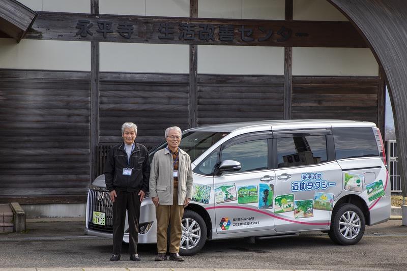ドライバー代表としてお話を聞かせていただいたお2人。右が大谷進氏。左が伊東力雄氏