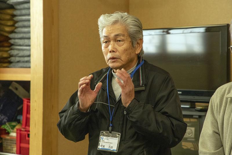 伊東氏は近助タクシーがこれからも続くために住民への周知をいま以上に進める必要があると語る