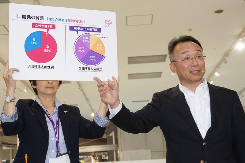 ウェルキャブ全般の責任者であるトヨタ自動車株式会社 CVカンパニーの中川茂氏。近助タクシーを語るに欠かせないキーマン