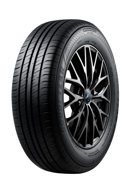 2月1日に発売された「EfficientGrip ECO EG02」(写真のタイヤサイズは215/60R16)