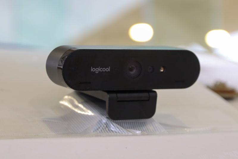 こちらはロジクールの4Kカメラ。今回の実験では使われなかった