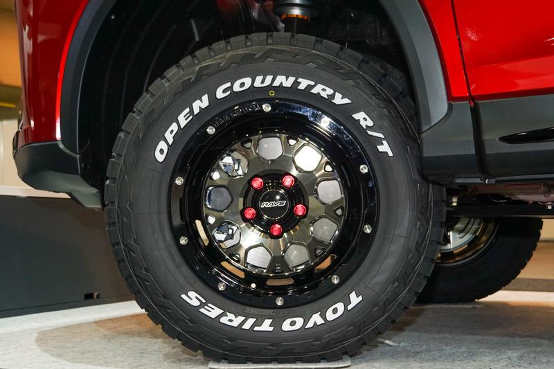 2月に発売したホワイトレタータイヤの「OPEN COUNTRY R/T(オープンカントリー アールティー)」