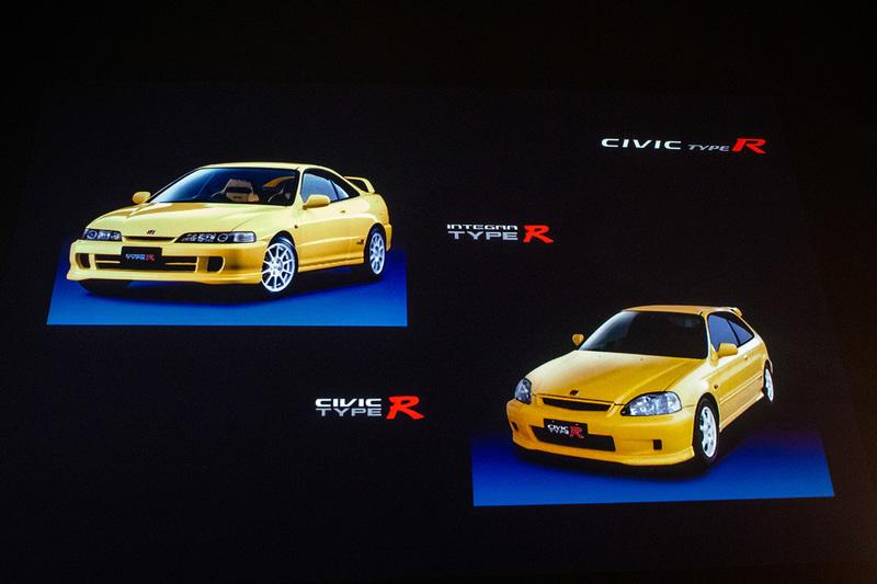 リミテッドエディションのボディカラーは、1990年代のTYPE Rを彷彿させるサンライトイエローII×ブラックの専用2トーンカラーのみの設定