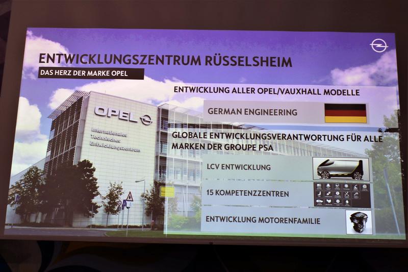 オペルとヴォクスホールの開発はすべてステルスハイムの開発センターで行なわれる