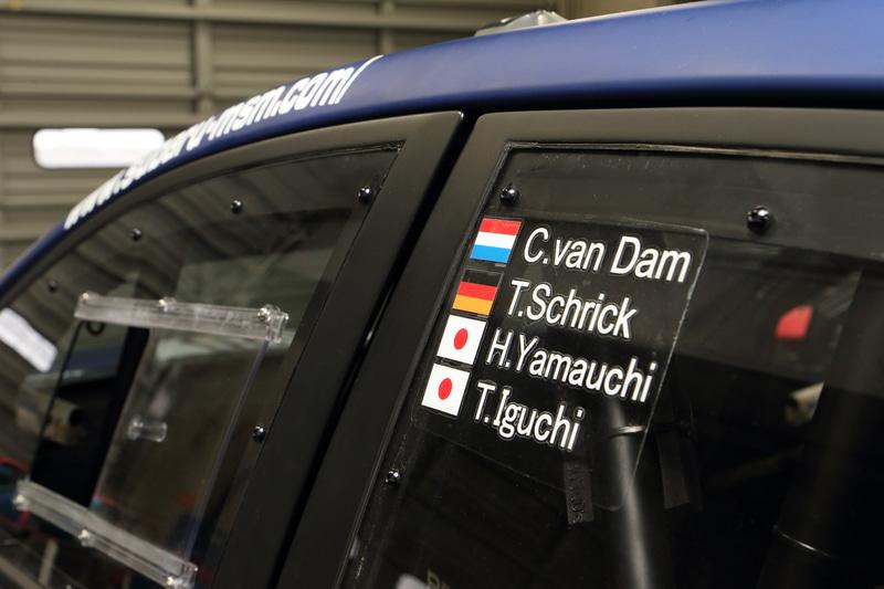 ニュルブルクリンク24時間レースのドライバー体制は、2019年と同じくカルロ・ヴァンダム選手、ティム・シュリック選手、山内英輝選手、井口卓人選手の4人