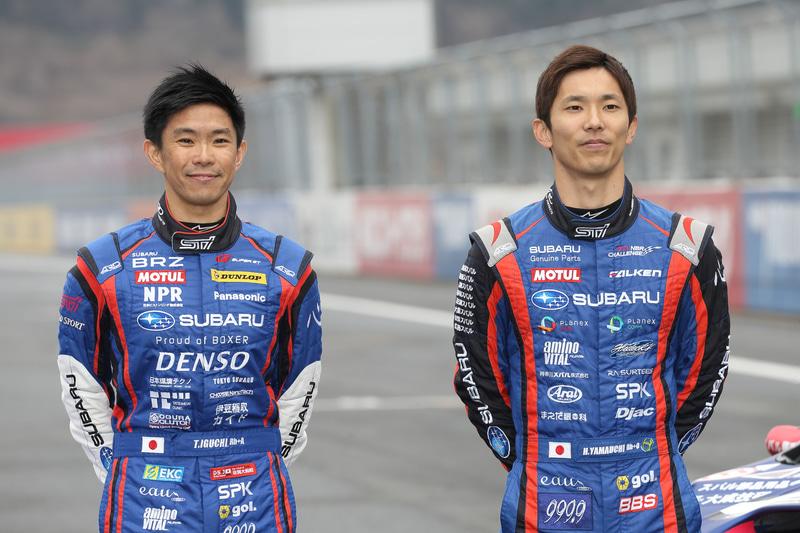 GT300クラスもこれまで同様、井口選手と山内選手の2人で参戦