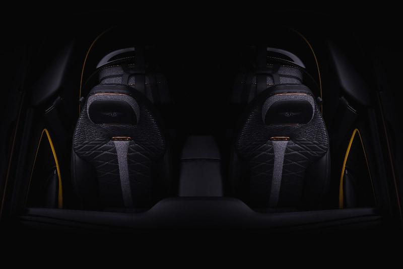 「ジュネーブモーターショー 2020」で初公開される「ベントレー マリナー Bacalar」のシート