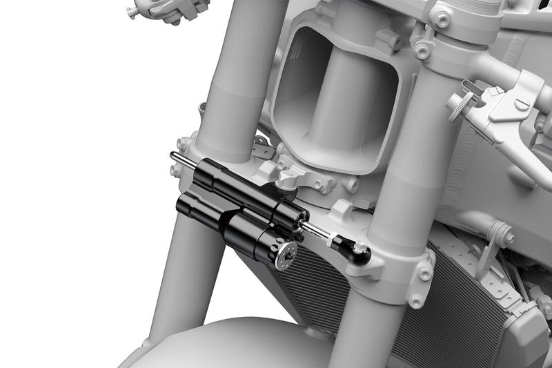 ショーワ製ロッド式電子制御ステアリングダンパー