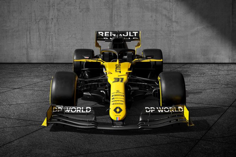 新たなタイトルパートナー「DP WORLD」との契約により、「ルノー DP WORLD F1チーム」として2020年シーズンのF1に挑む
