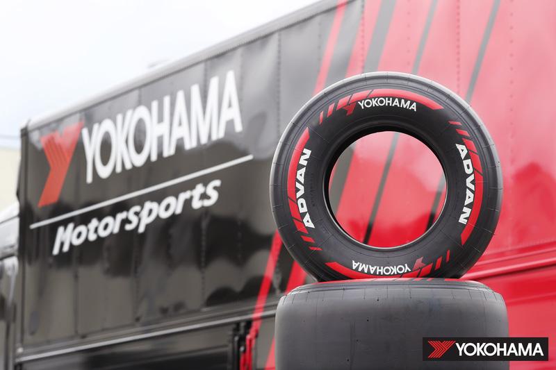 横浜ゴム製のスーパーフォーミュラ用ワンメイクタイヤ
