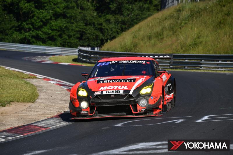 2019年のニュルブルクリンク24時間耐久レースで総合9位を獲得したKONDO RACINGの「NISSAN GT-R NISMO GT3」