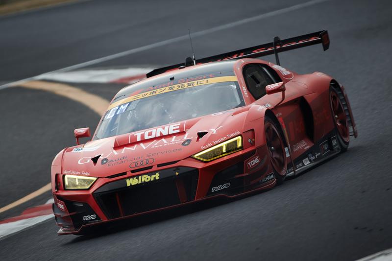 SUPER GTのGT300クラスに参戦する21号車 Hitotsuyama Audi R8 LMS