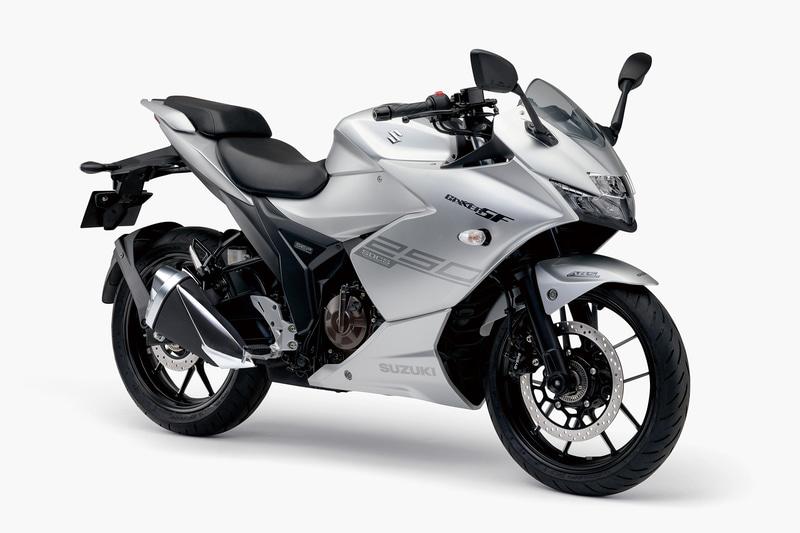 4月24日発売の「ジクサー SF 250」。価格は48万1800円