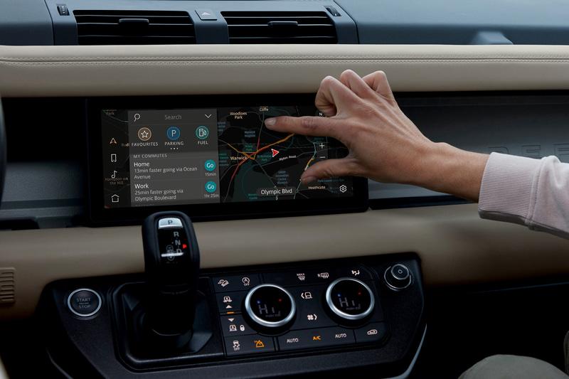 最新インフォテインメント・システム「Pivi Pro」を装備。
