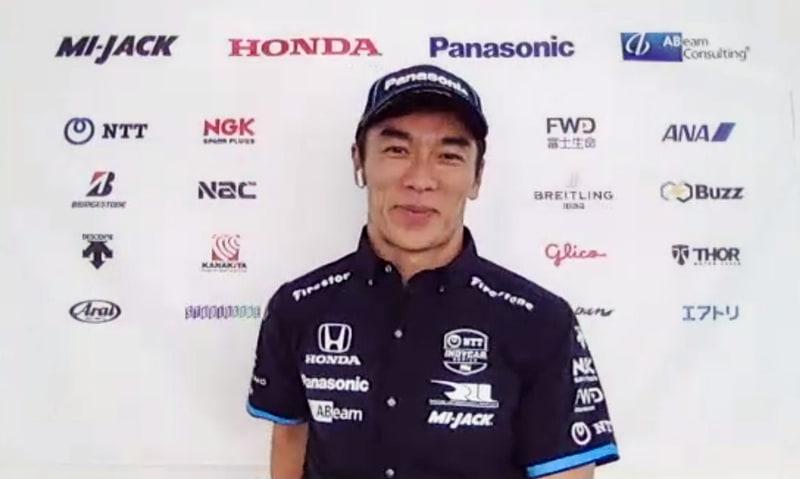 佐藤琢磨選手