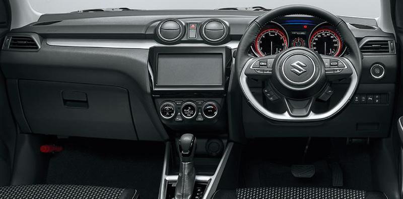インパネ HYBRID RS 全方位モニター用カメラパッケージ装着車