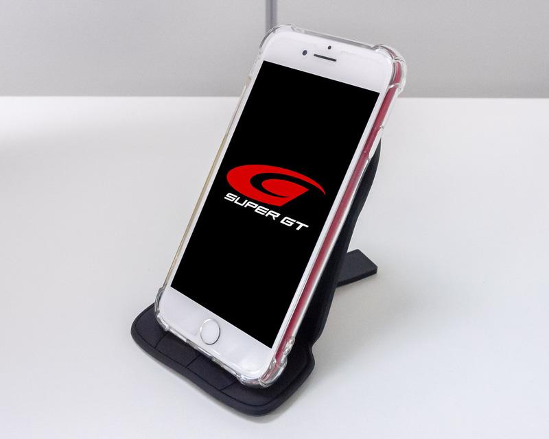 SUPER GT スマートフォンスタンド(車両ドライバーのサイン入り)をプレゼント