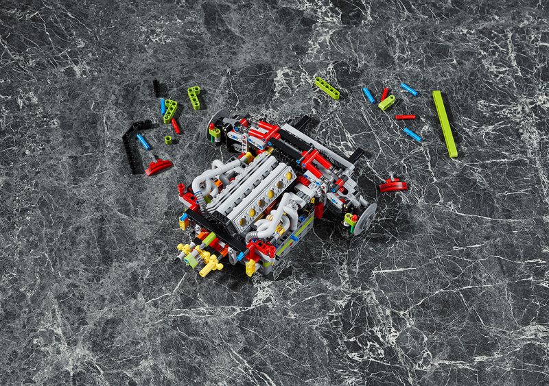 レゴ テクニック ランボルギーニ シアン FKP 37
