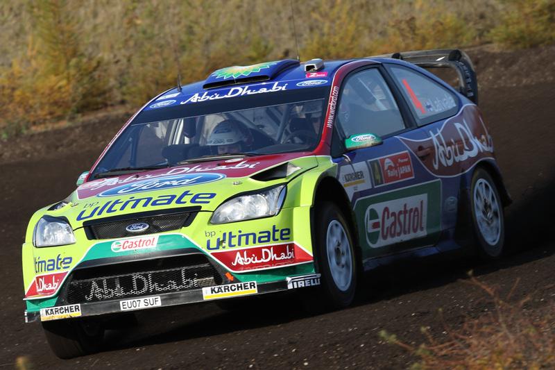2位 ヤリ-マティ・ラトバラ、ミーカ・アンティラ(フォードフォーカスRS WRC08)