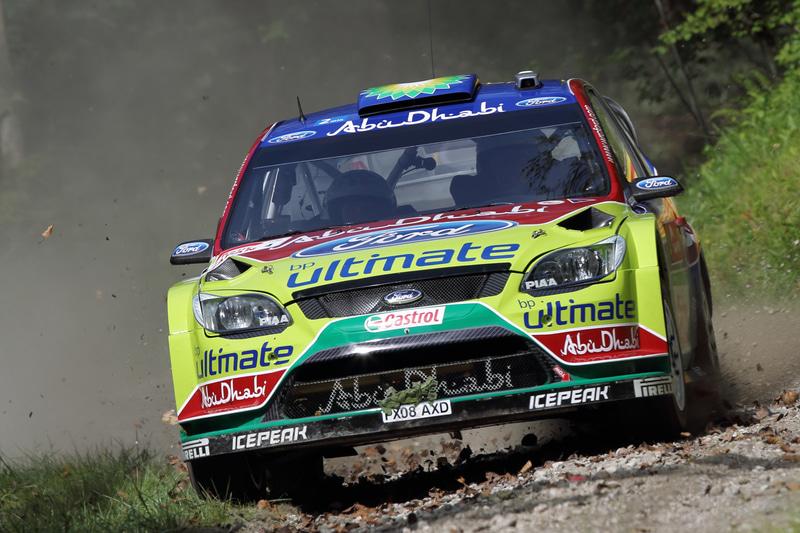 3位  ヤリ-マティ・ラトバラ、ミッカ・アンティラ(フォード・フォーカスRS WRC09)