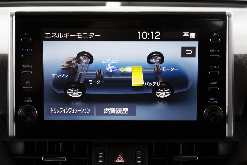 9インチディスプレイオーディオと車載通信機を標準装備。オプションだった「Apple Car Play」「Android Auto」は標準装備となった