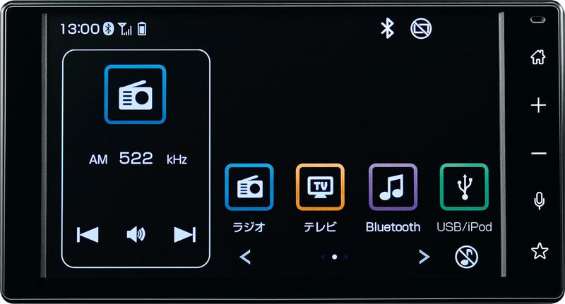 9インチスマホ連携ディスプレイオーディオや、6.8インチスマホ連携ディスプレイオーディオをオプション設定。「ダイハツコネクト」のほか、SmartDeviceLink、Apple CarPlay、Android Autoに対応