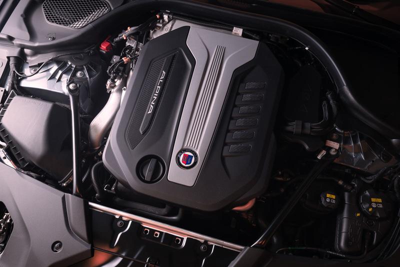 BMW ALPINA D5 Sに搭載されるディーゼルエンジン+マイルドハイブリッド
