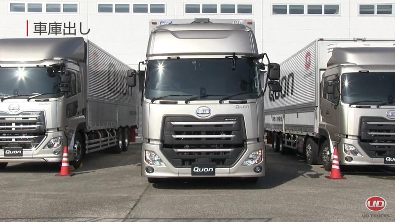 UDトラックスが公開した狭い構内での安全運転 8つのポイント
