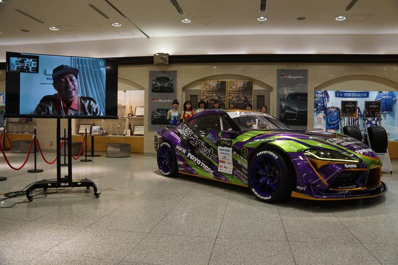 マレーシアのプロドリフトドライバー、ツンクー・ジャン・レイ選手がオンラインで参加