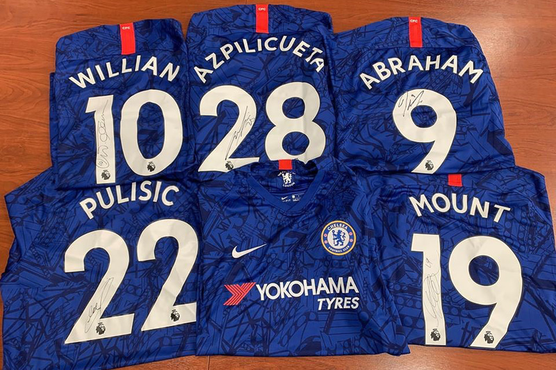 「チェルシーFC」選手などの直筆サイン入りユニフォームが当たるメルマガ登録キャンペーン実施中