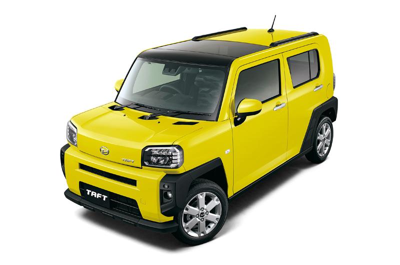 ダイハツ工業が6月10日に発売した新型軽クロスオーバー「TAFT(タフト)」