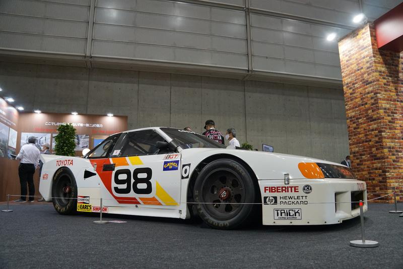 トヨタ セリカ IMSA GTOシリーズ最終戦優勝車(展示車両の生産年1988年)