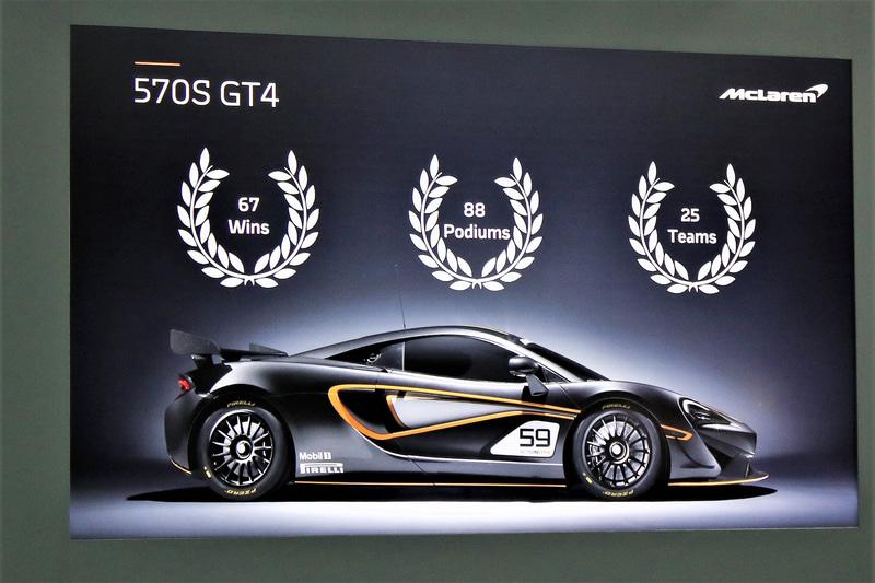570SをベースにしたGT4でグローバルでさまざまなカテゴリーに参戦。2017年に投入以降、プライベーターを含めて25チームがGT4で参戦し、全世界で67勝、88回のポディウムを記録