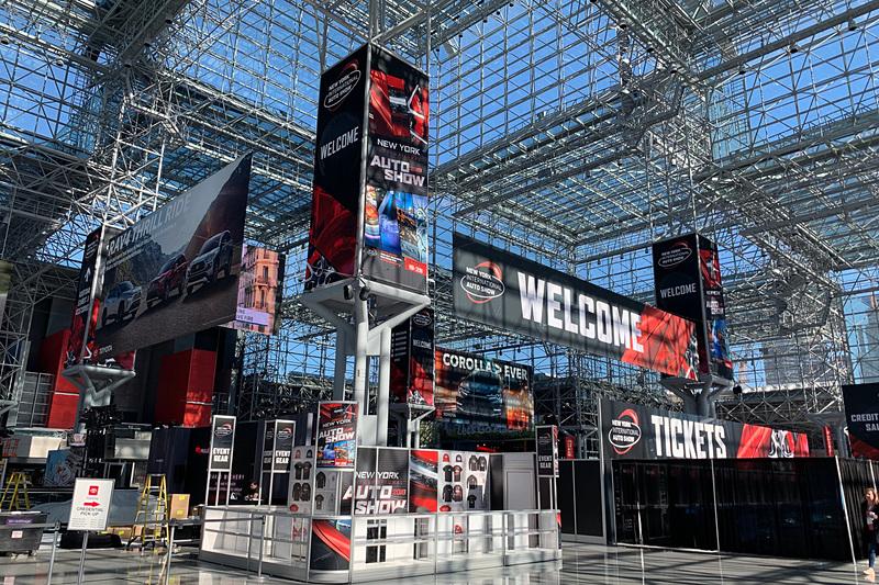 会場のジェイコブ・ジャヴィッツ・コンベンションセンター(写真は2019年開催時のもの)