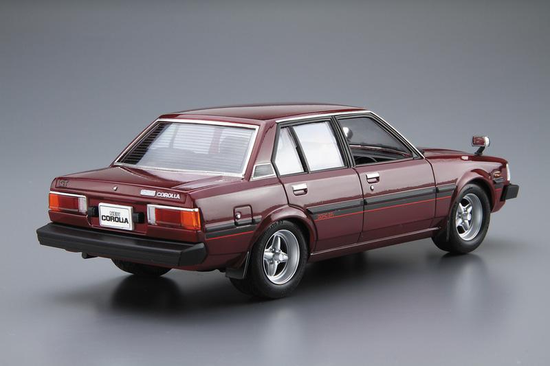 1/24 トヨタ E71/70 カローラセダン GT/DX '79(試作品)