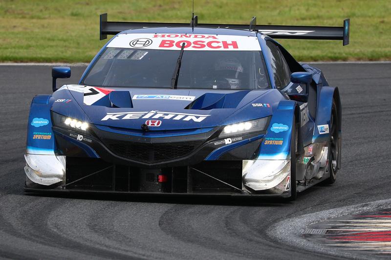 SUPER GT 第2戦富士を優勝した17号車 KEIHIN NSX-GT(塚越広大/ベルトラン・バゲット)