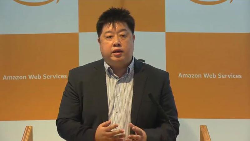 アマゾン ウェブ サービス ジャパン株式会社 技術統括本部長 執行役員 岡嵜禎氏