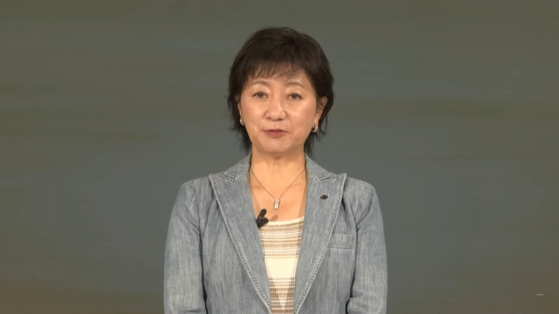 ALL NISSAN MEETINGに登壇した日産自動車株式会社 執行役副社長 星野朝子氏