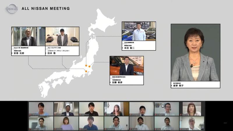 各分野のリーダーだけでなく、一般社員の代表も参加し、コミュニケーションの場も設けられた