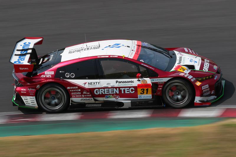GT300のポールポジションは31号車 TOYOTA GR SPORT PRIUS PHV apr GT(嵯峨宏紀/中山友貴組、BS)