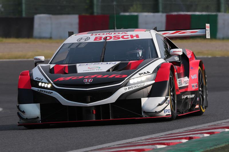 SUPER GT第3戦 鈴鹿のポールポジションは64号車 Modulo NSX-GT(伊沢拓也/大津弘樹組、DL)
