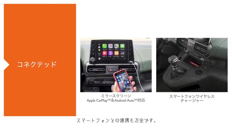 運転支援技術やスマートフォンとの連携機能も全車標準装備