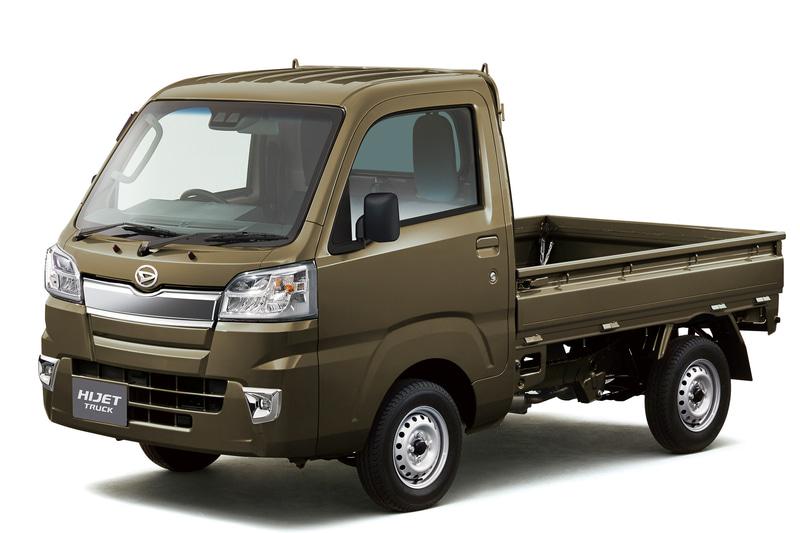 軽商用車「ハイゼット トラック」などを一部改良