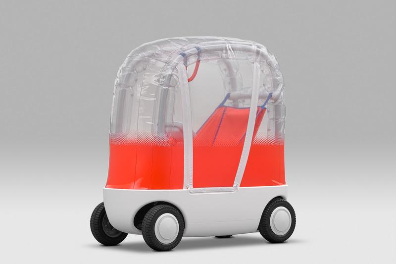 東京オートサロン2020に展示されたコンセプトモデル「AIBOU」もフォトスポットとして登場