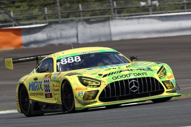 総合優勝とクラス優勝は888号車 HIRIX GOOD DAY RACING AMG GT3(山脇大輔、高木真一、THONG Wei Fung Shaun、根本悠生、林久盛組)