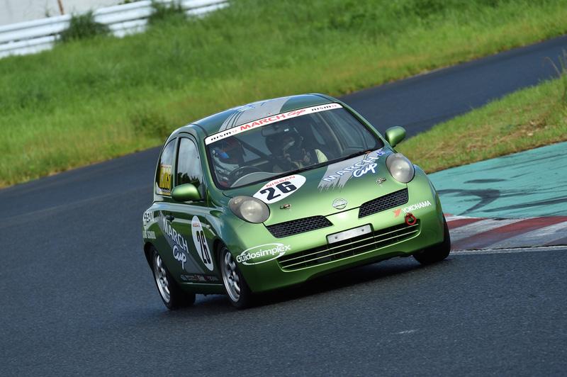 青木選手のドライブはすごく速いのに、安心感がありました!