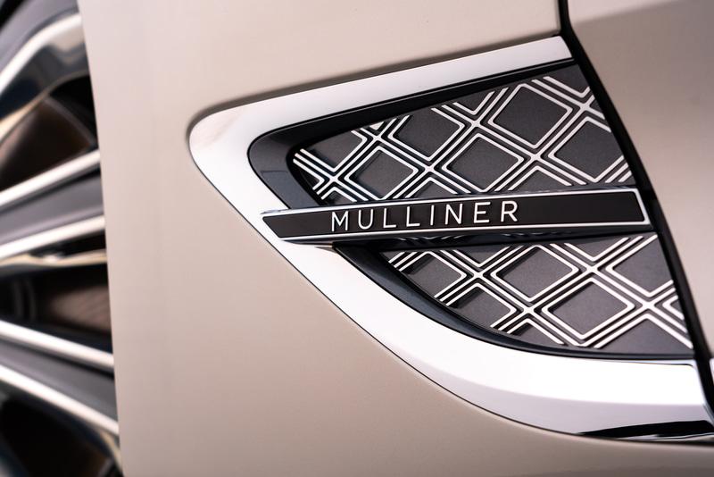 フロントフェンダーにMULLINERの文字